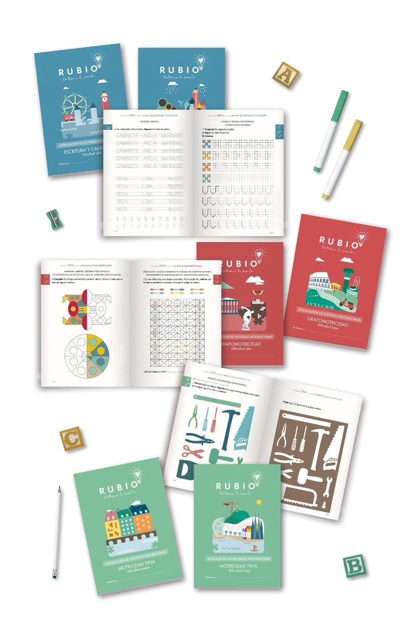 Cuadernos Rubio ilustracion ciudades New York Italy france rusia barcelona valencia españa Copenhague Grecce map parkinson Adults