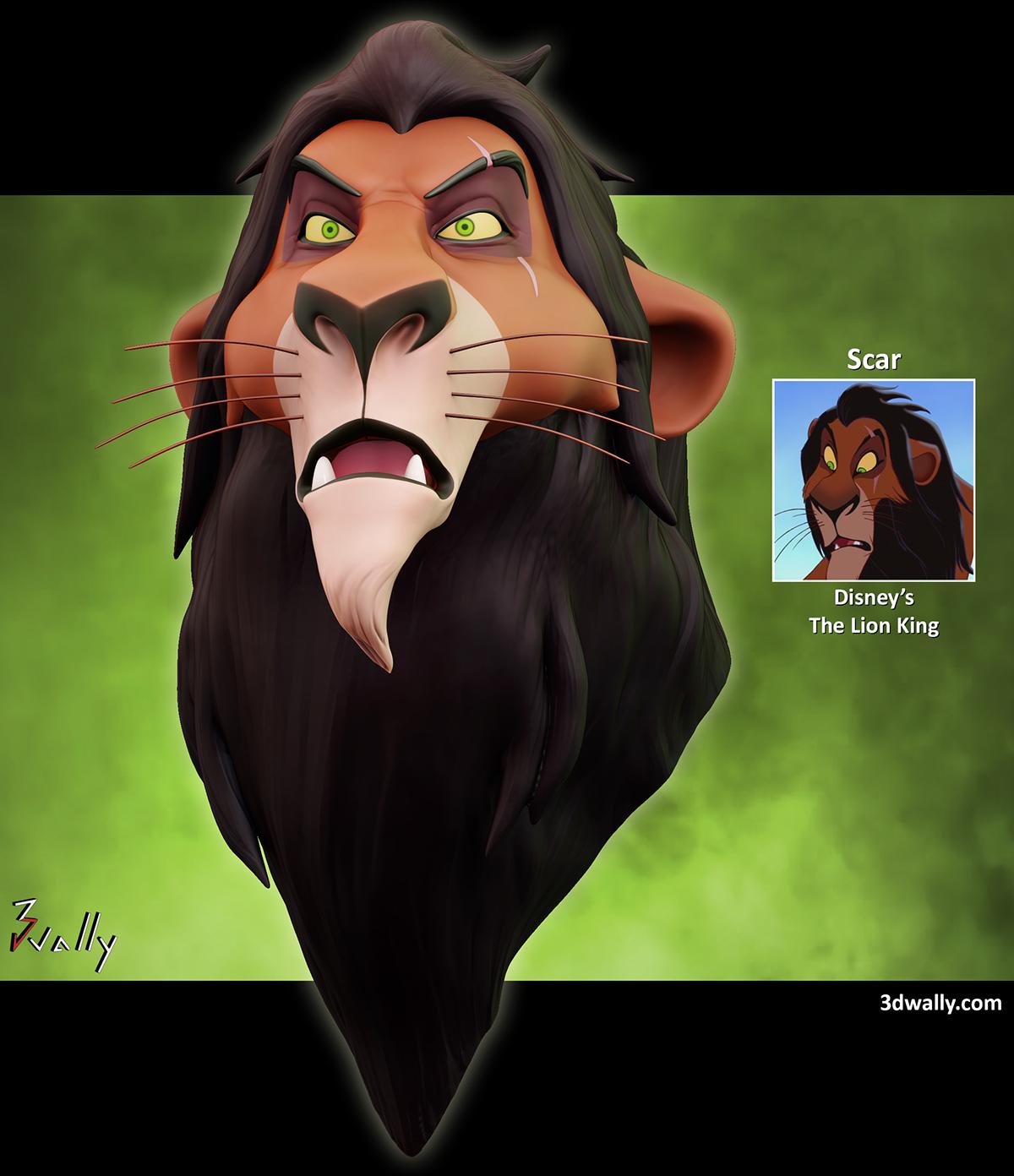 Scar Disney S The Lion King On Behance
