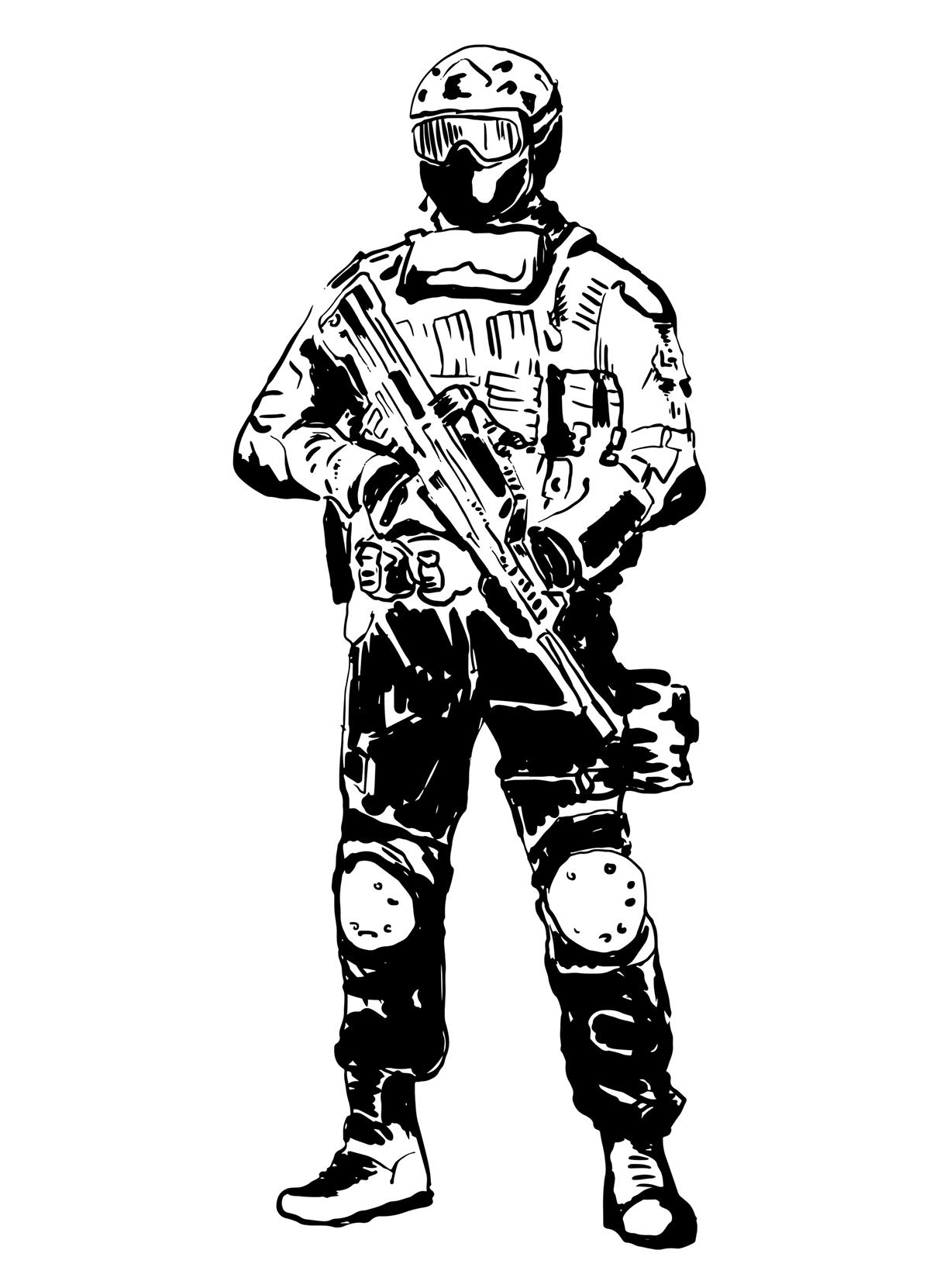 ink sketchy sketch design black