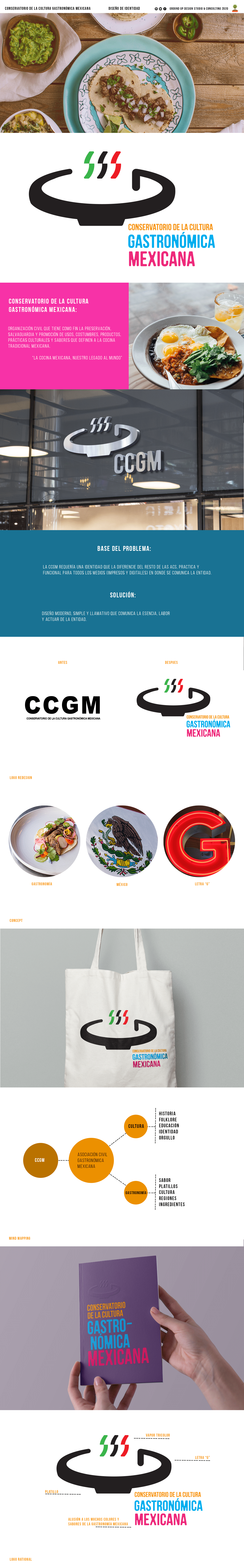 Food  logo Mexican Non for profit redisgn