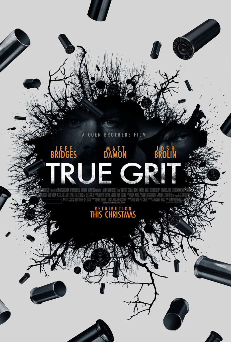 keyart keyart poster movie movie poster poster Coen brothers True Grit
