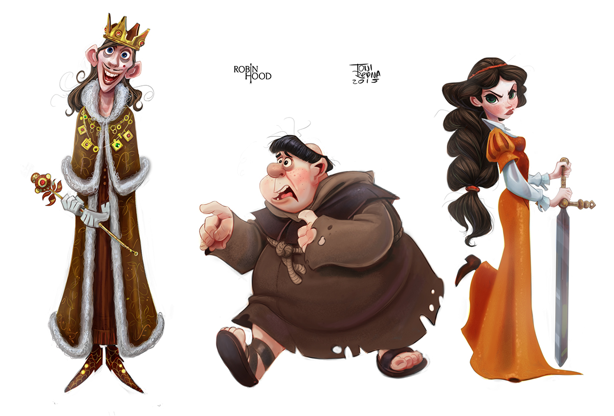 Robin Hood Charaktere