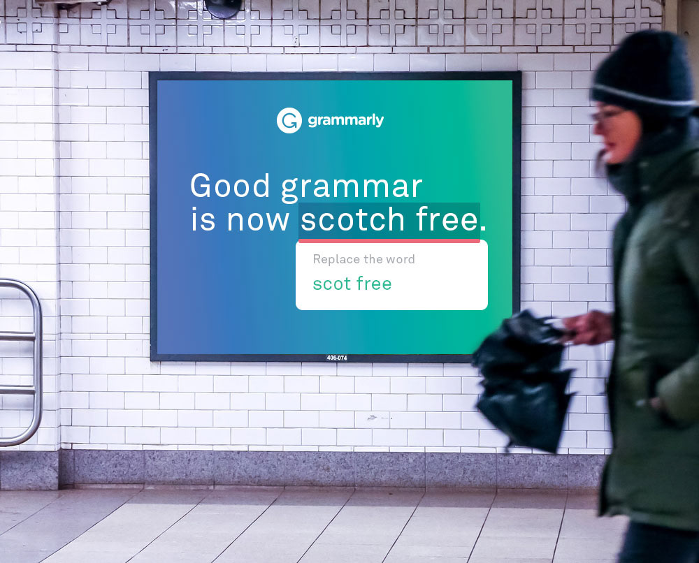 What Does Grammarly Ad Do?