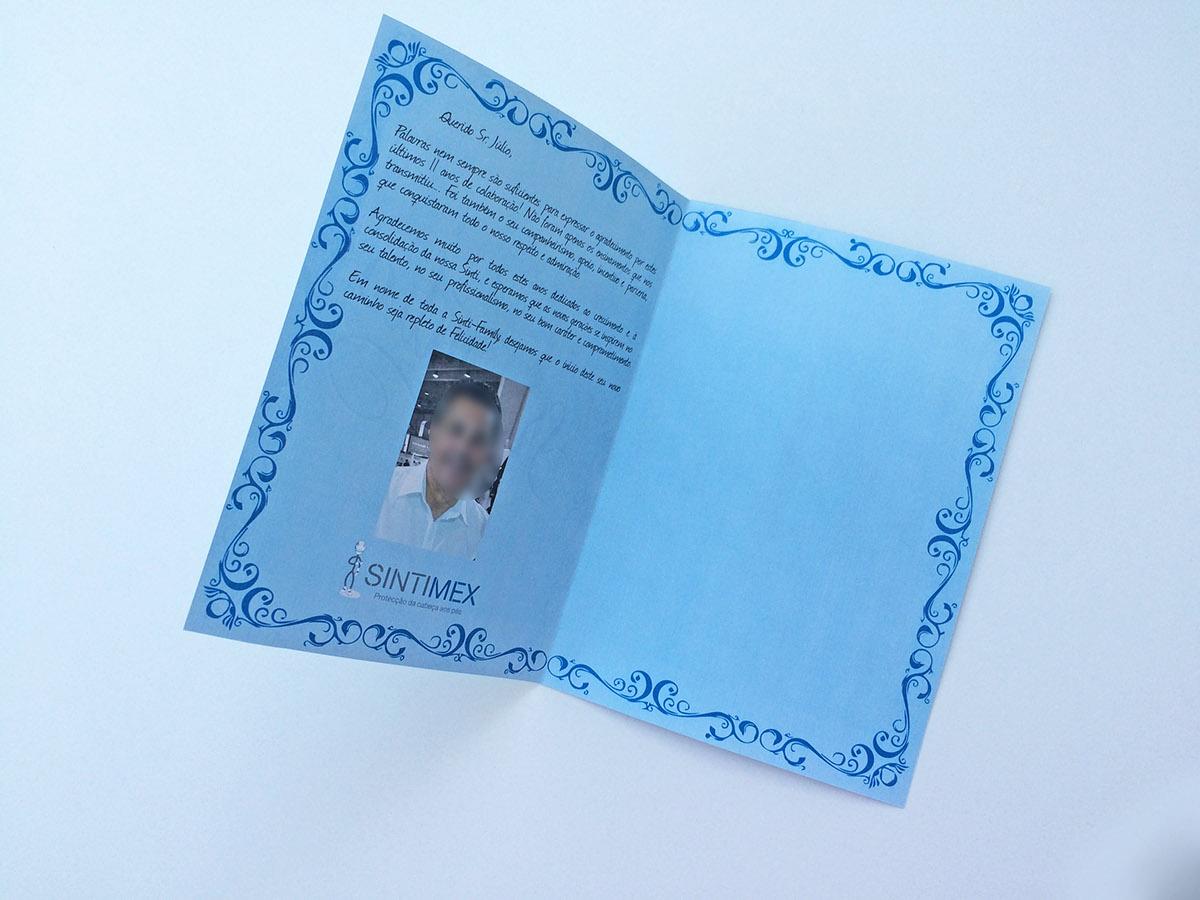 ornament vintage blue cursive retirement card minimalist minimal art graphic perfeccionism