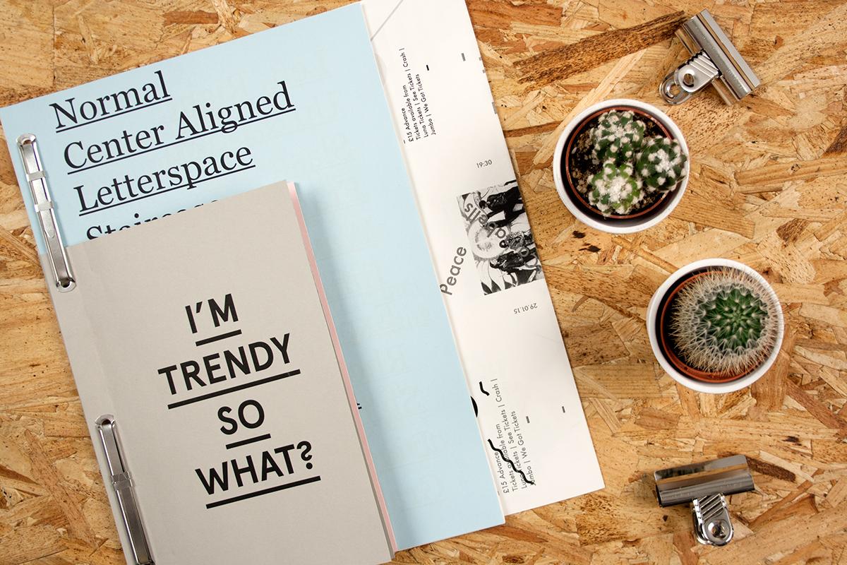trends publication ik blue pastel app trend editorial format stock Layout