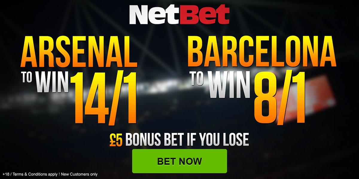 landing pages sport psort event messi Neymar arsenal betting netbet giroud