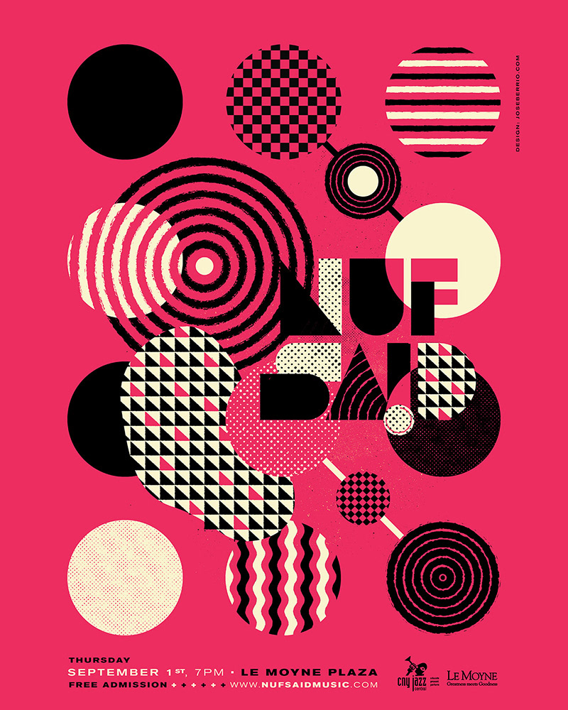 poster gig poster concert poster Alesso St Vincent combo chimbita the black keys screenprint Brooklyn fruit and flowers
