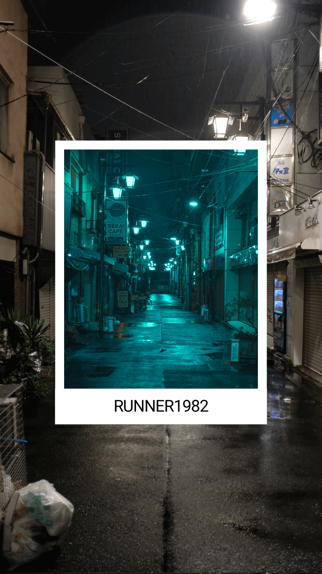 Introducing Osore Runner1982 Lightroom Preset