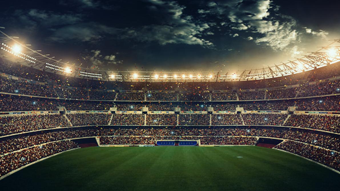 Stadiums hd on behance - Soccer stadium hd ...