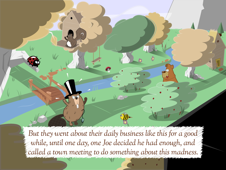 interactive story app animal silly Character