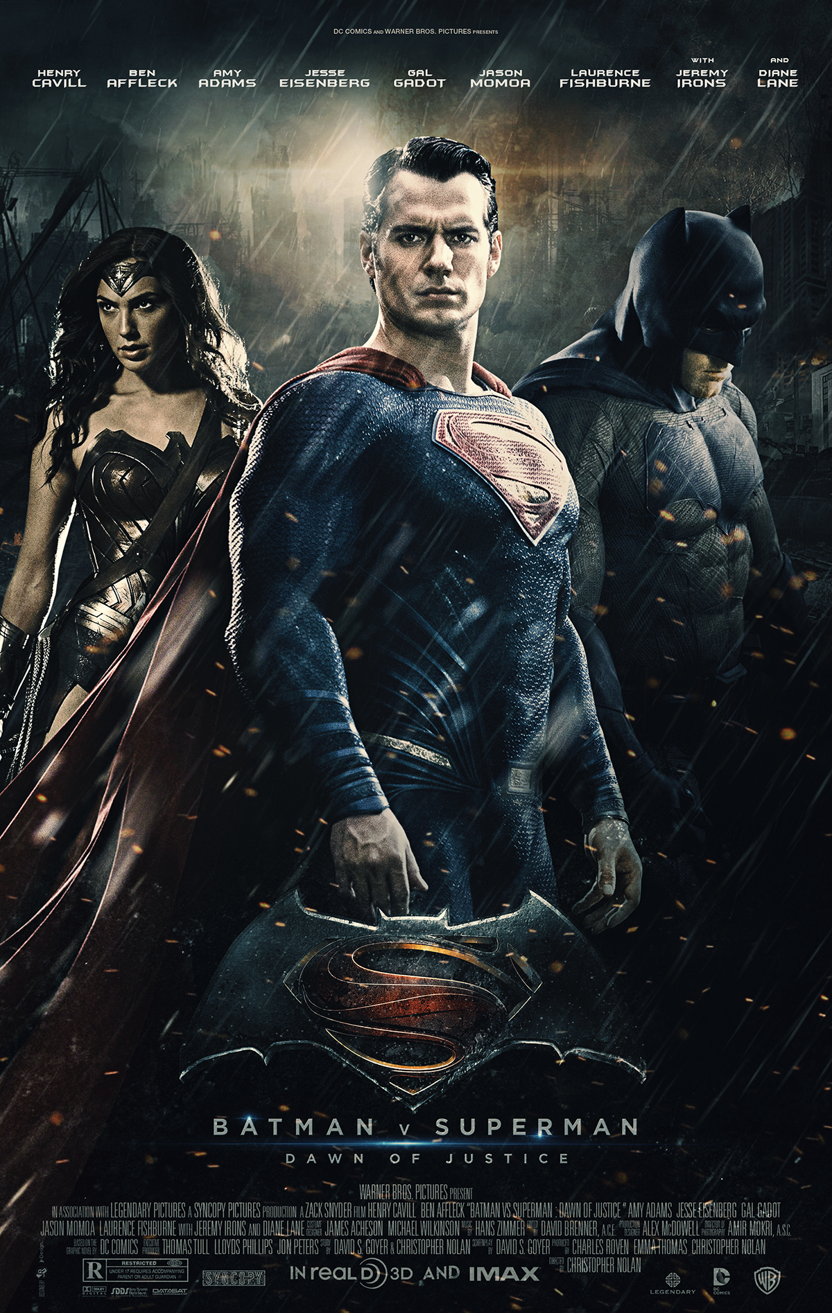Batman Vs Superman Dawn Of Justice Fan Art Poster On Behance