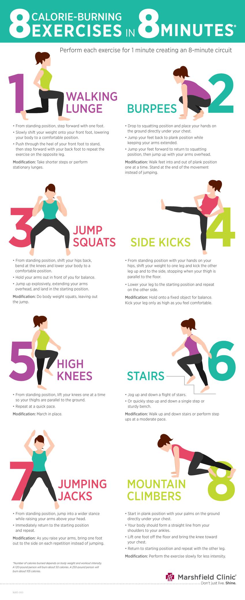 high calorie burning workout | Kayaworkout.co
