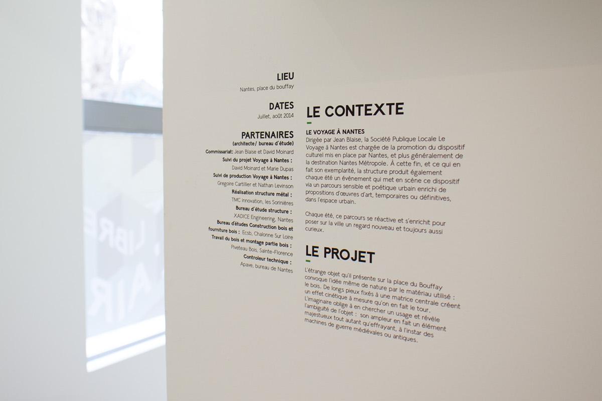 Exhibition  art scenography signaletic