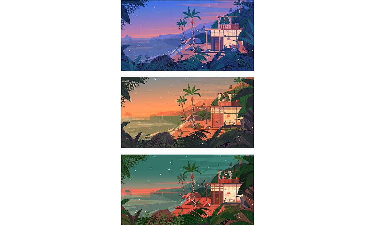 Image may contain: tree, screenshot and palm tree