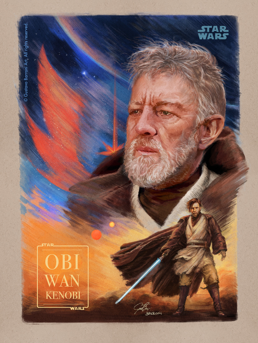 Starwars Obiwan kenobi Classic lightsaber tatooine sand reclusion