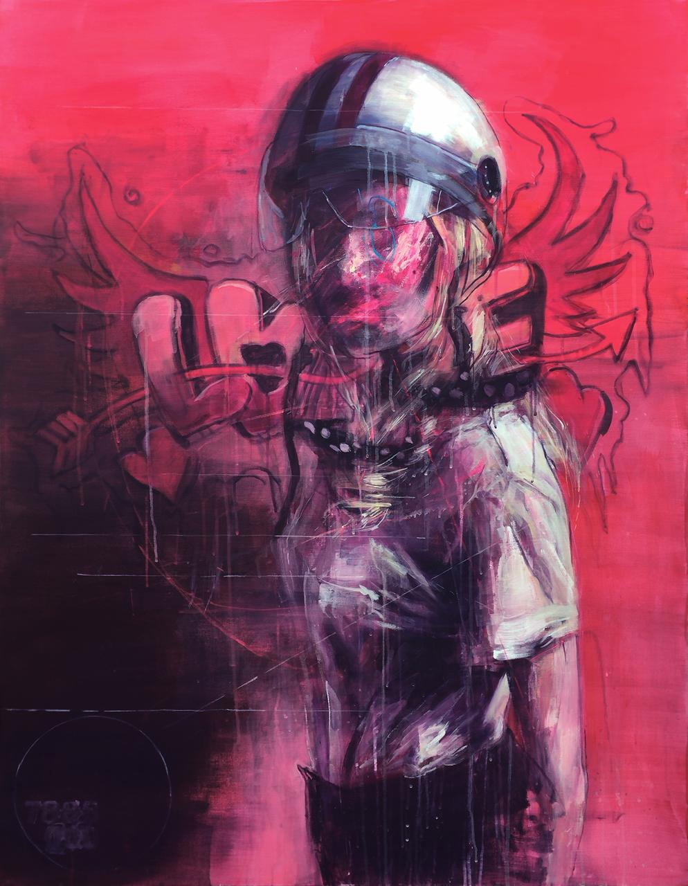 JAJ#004 acryilc on canvas 116.8x91cm