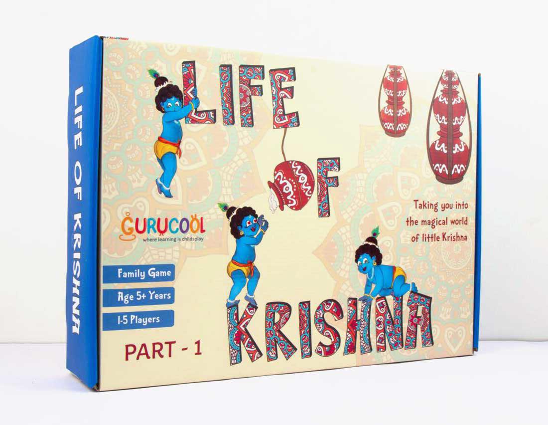 Life of Krishna (Board Game) on Behance