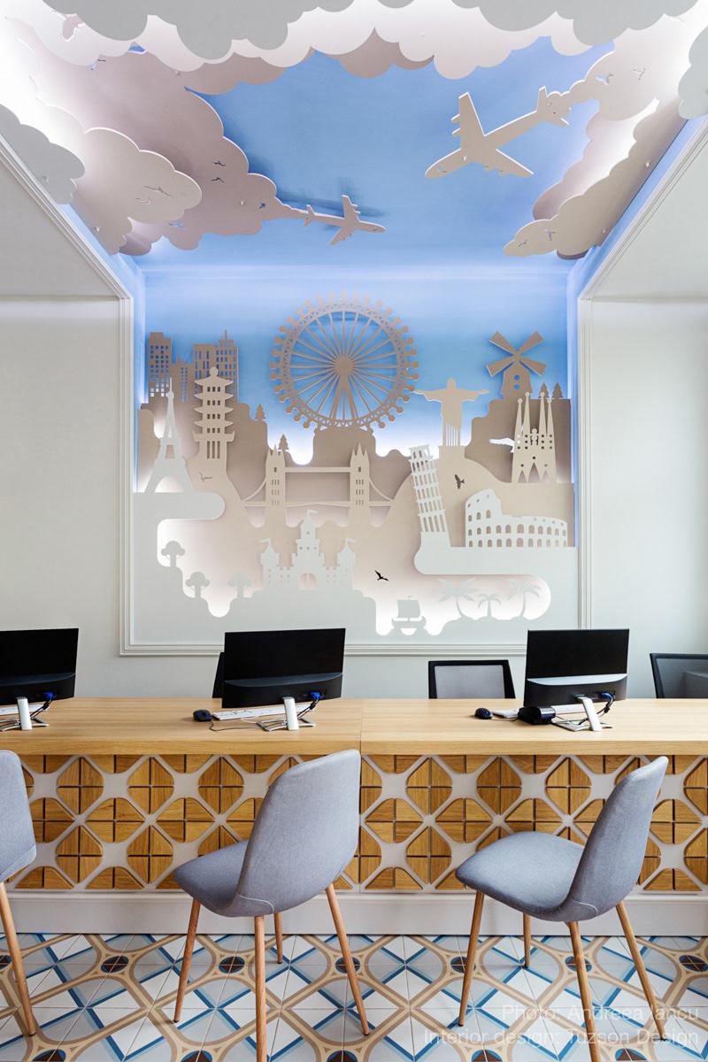 Wall 3D art: Alexandra Comanici