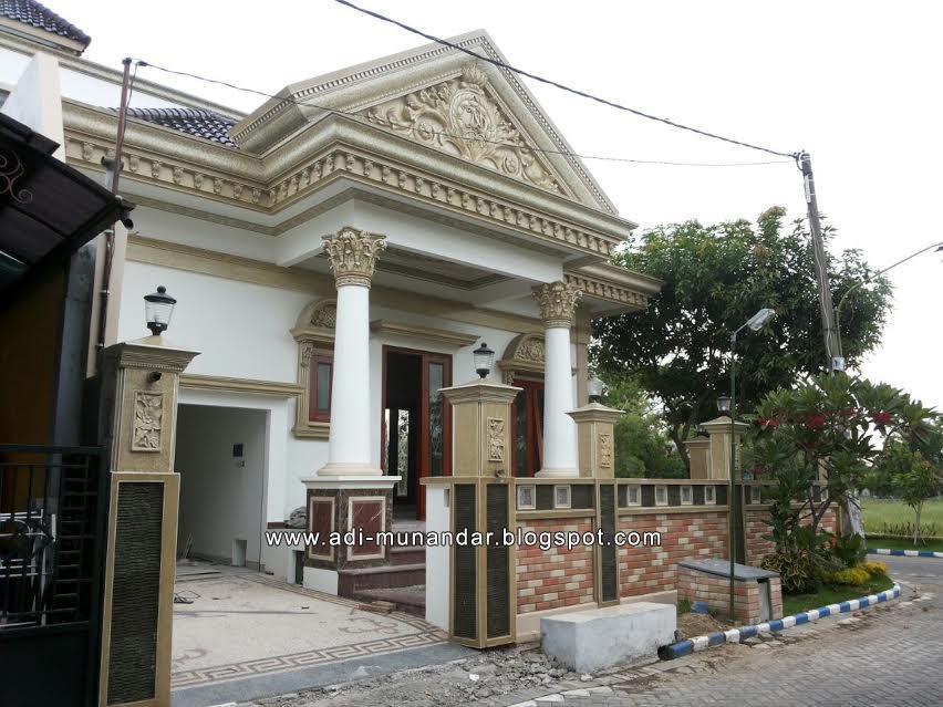 Rumah Klasik 1 Lantai Di Taman Sidorejo Sidoarjo On Behance
