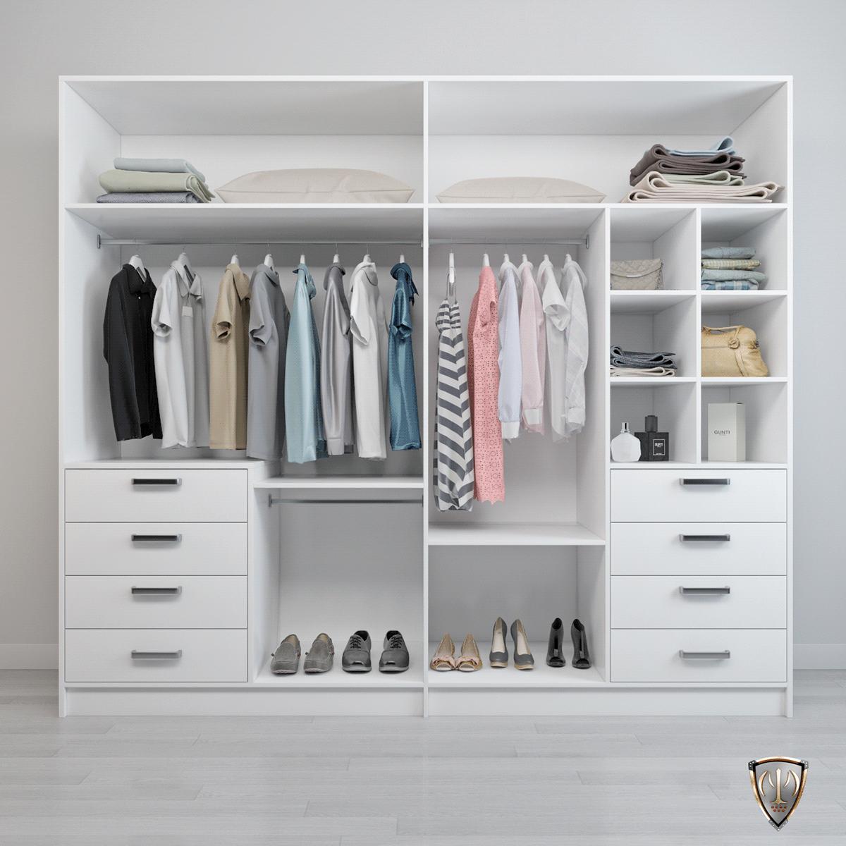 Image may contain: indoor, wall and closet