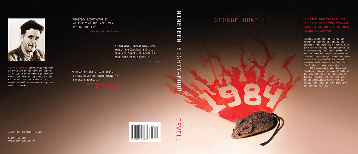 1984 Book Jacket On Behance