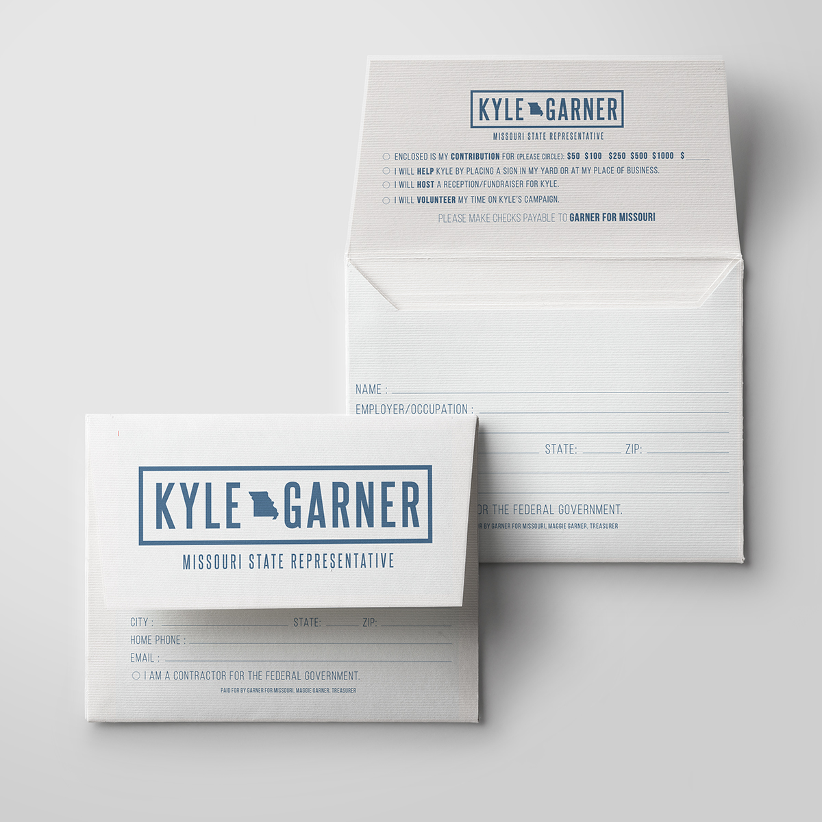 Mike Watts Consulting: Kyle Garner Campaign on Behance