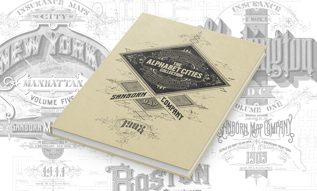 letterpress print sanborn maps