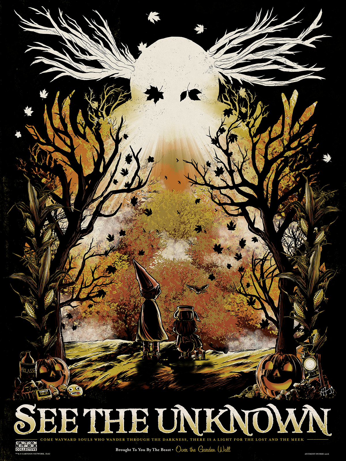 Over The Garden Wall Poster On Behance