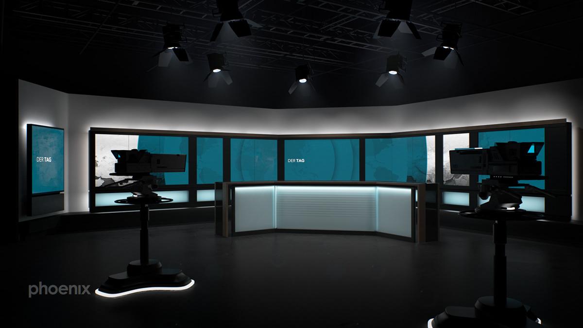 TV-Channel Design broadcast design Grafikdesign ILLUSTRATION  redesign On-Air Layout concept