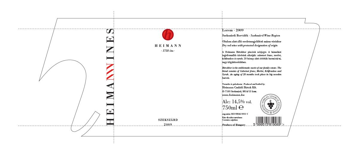 Heimann Heimann Wines szekszárd hungary bottle design wine winery label design basic wines selected wines Simon Says José Simon Merlot syrah Bull's Blood