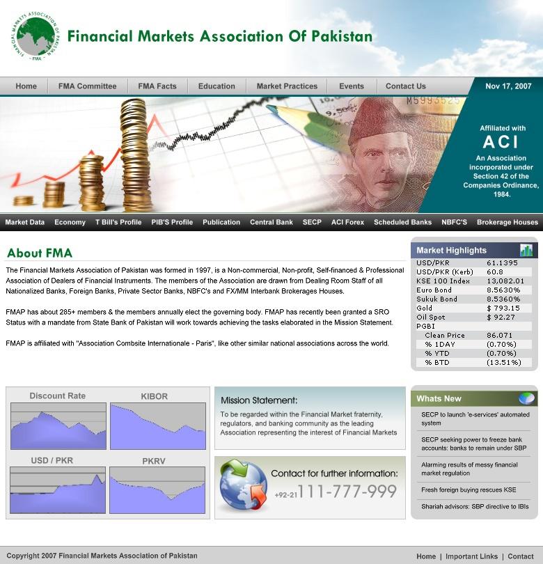 web portals Fashion Store online trading website karachi stock exchange