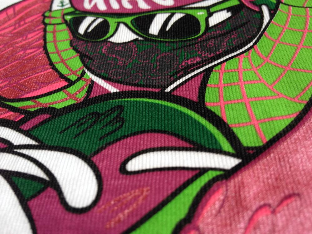 Nike t-shirt sneakers shoes wings Rubens Cantuni tokyo candies Foot Locker T-Shirt Design