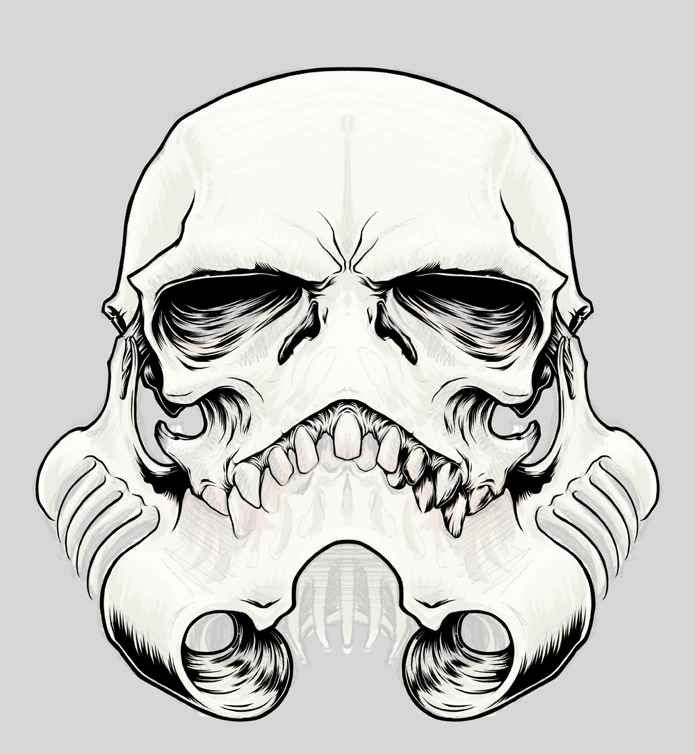 Quot The Skulltrooper Quot Inspired By Star Wars Stormtrooper On