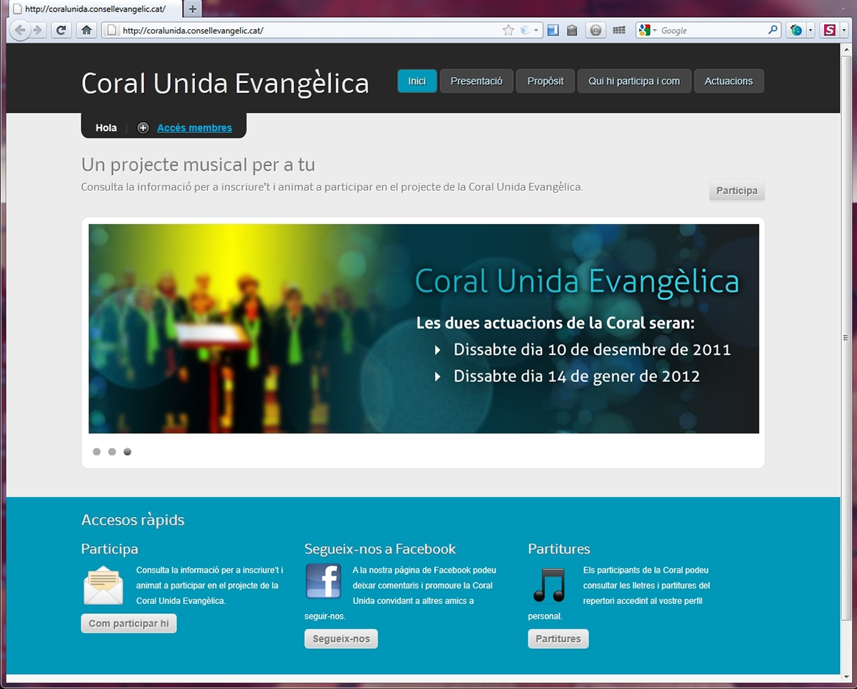 choir  wordpress community  online