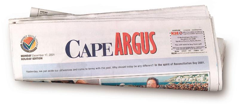 public service reconciliation day Cape Argus Cape TImes