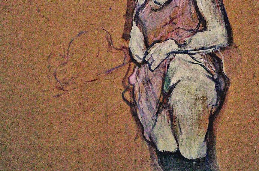 musée d'orsay La buveuse d'absynthe Picasso Sérusier Le Talisman Toulouse-Lautrec Pierre Bonnard gauguin Courbet Guillaumet