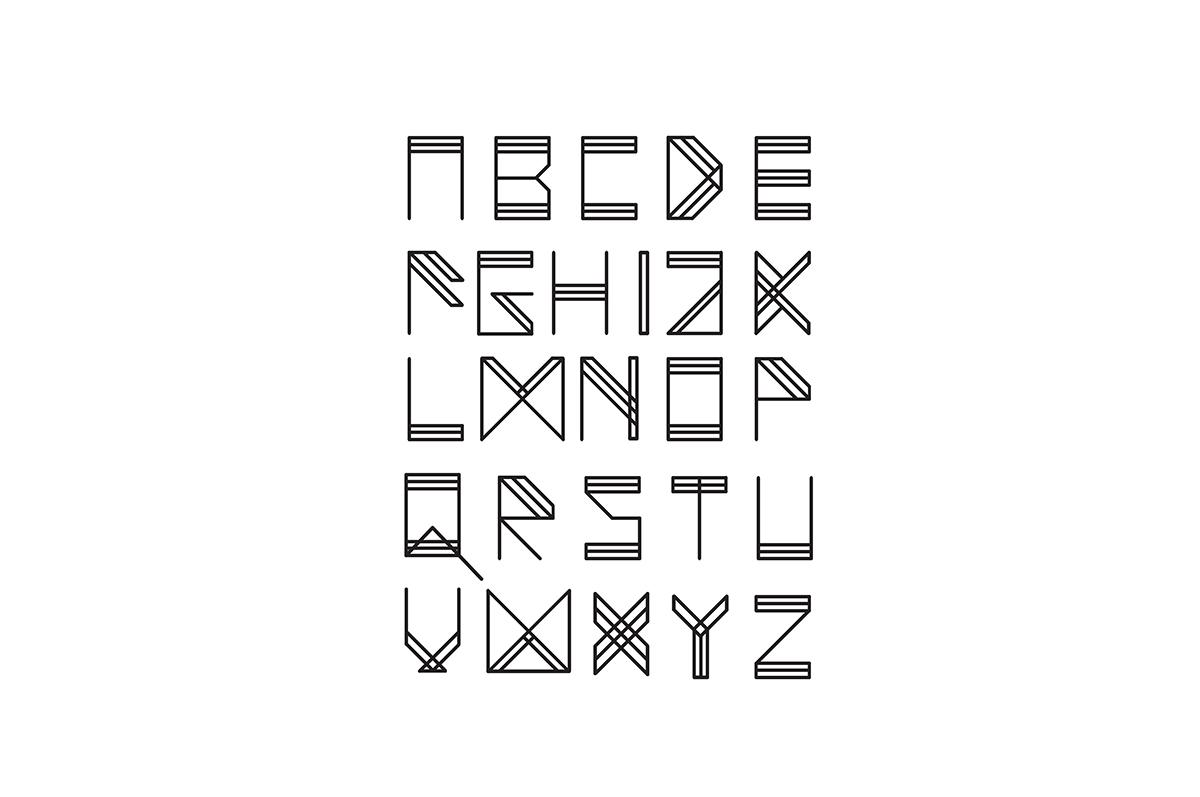 wake up typeface on behance