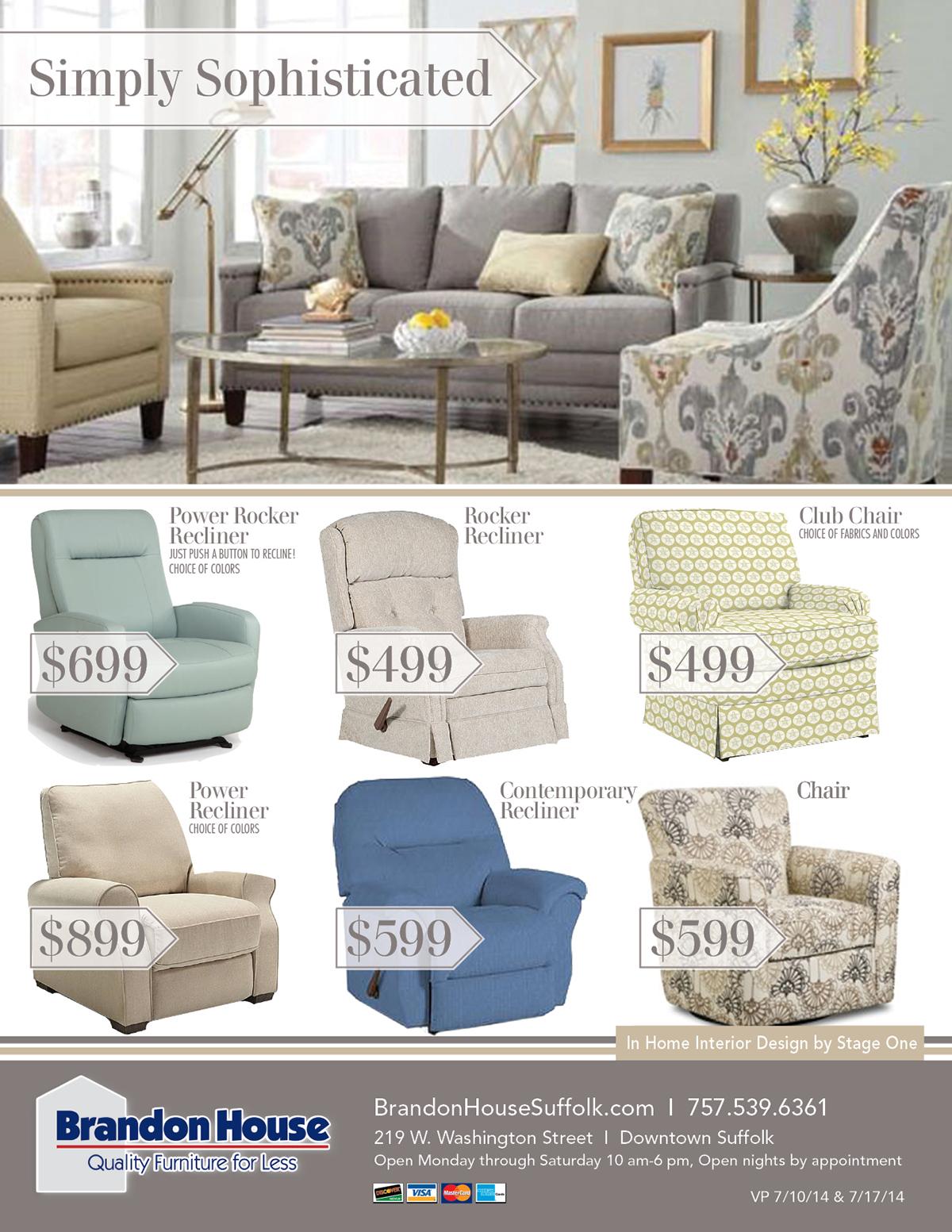 Marvelous Project: Brandon House Furniture On Behance