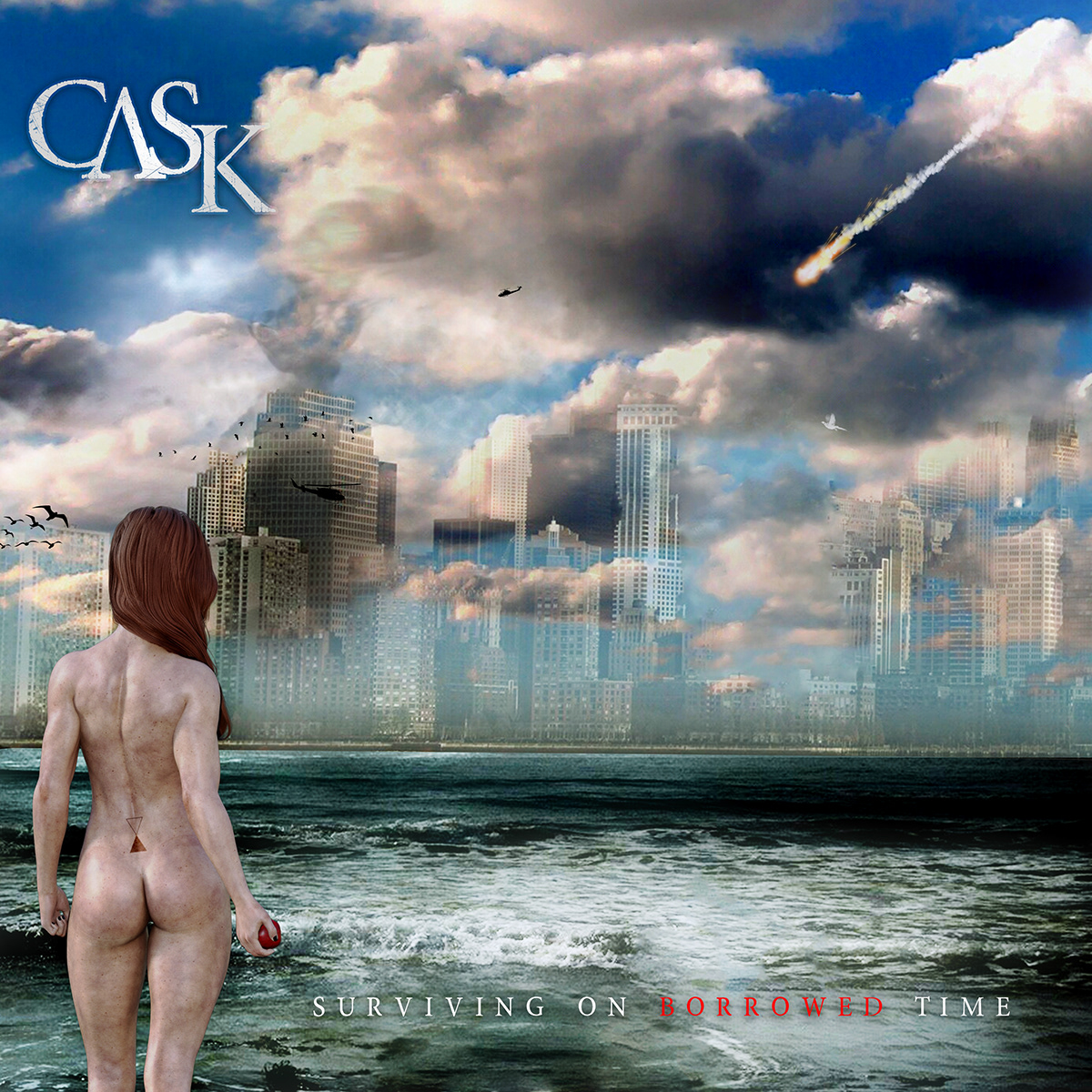 album artwork CGI music showcase