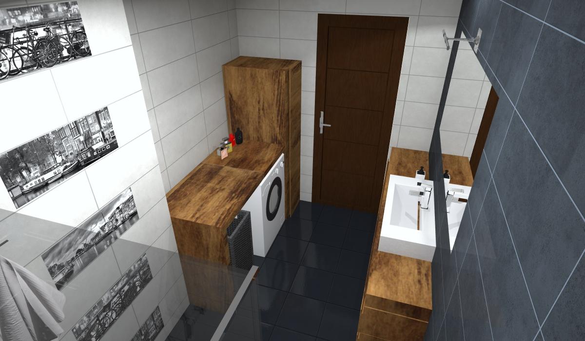 architektura wnętrz wizualizacja wnętrze projekt łazienka Render aranżacja projektowanie Interior 3D
