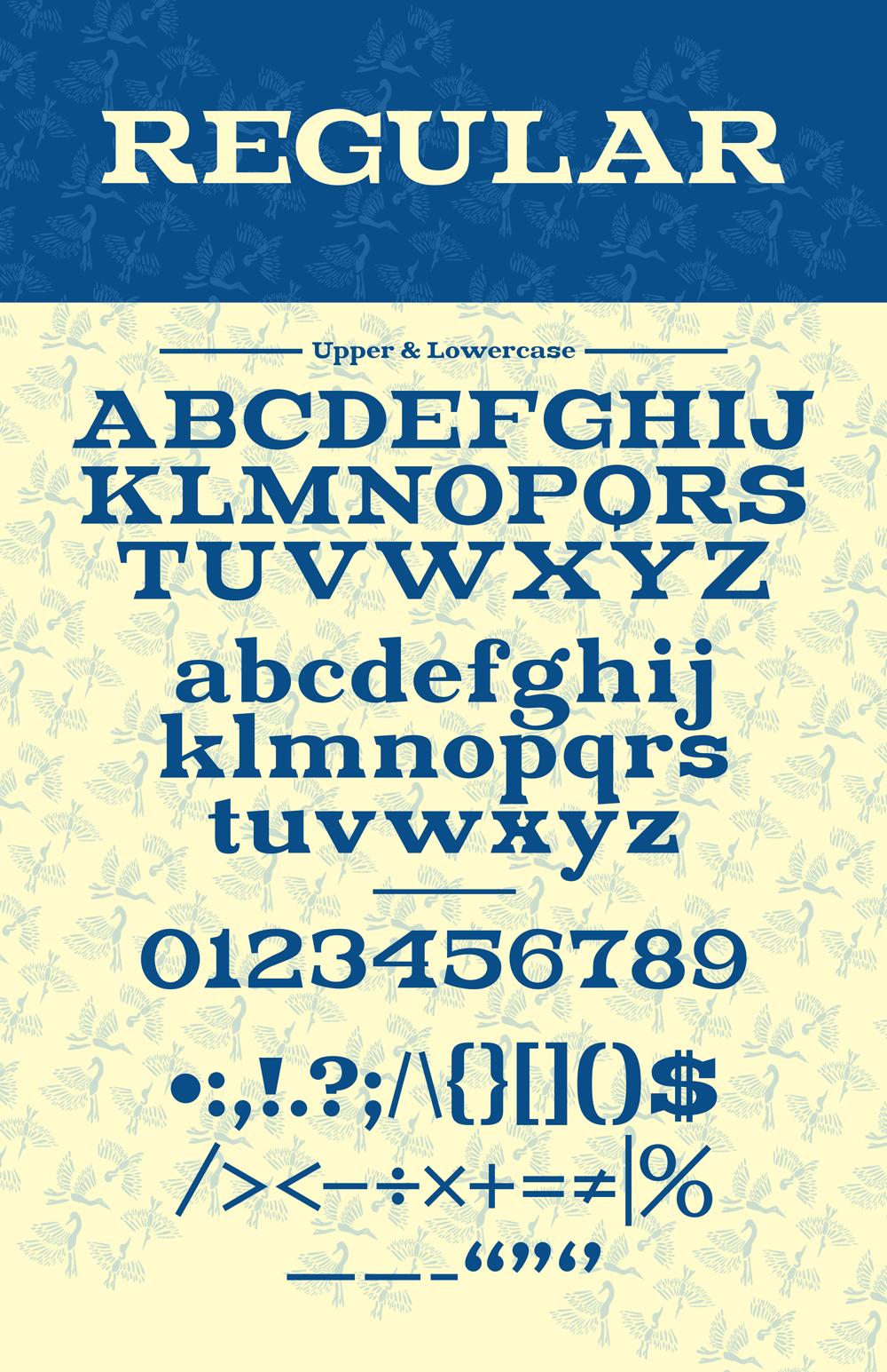 Adobe Portfolio font pattern kenji enos kenjiboy free magnolia