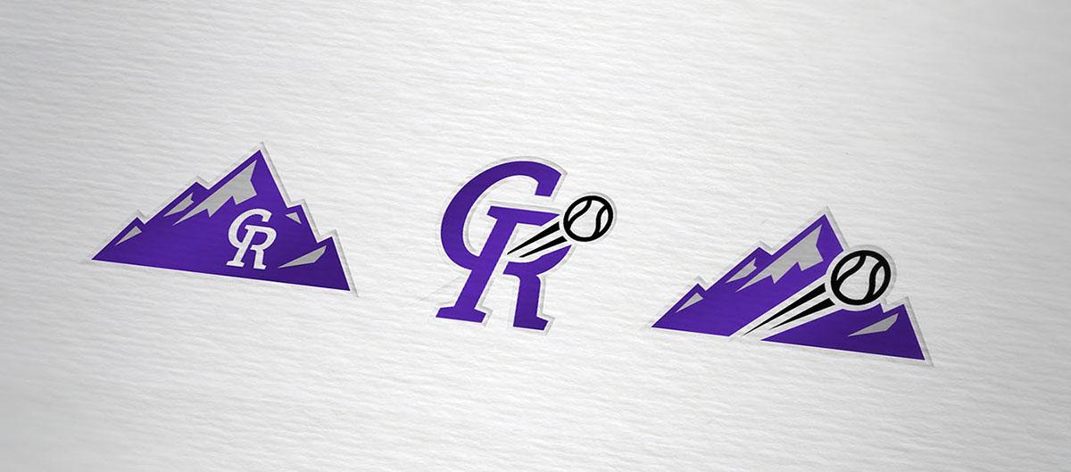 sport logo brand rockies Colorado baseball beisbol mlb jersey uniform adidas