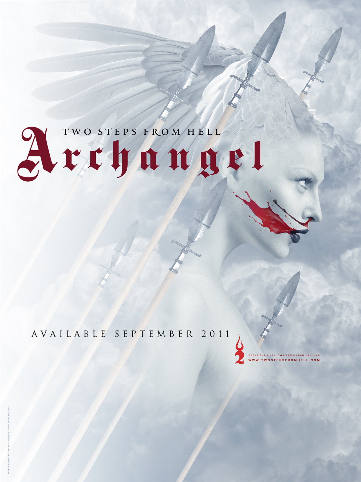 Two Steps From Hell Archangel Poster And Cd On Behance