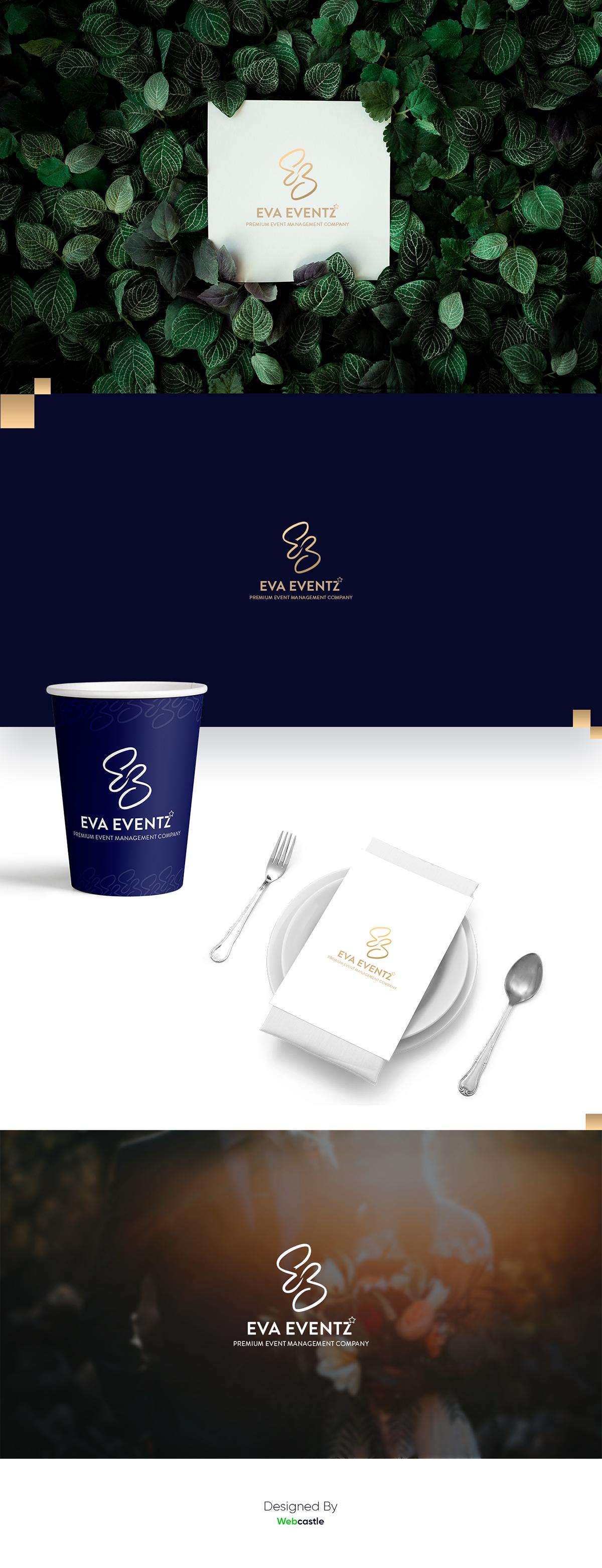 logo branding  designing logo development brand identity graphic event company Event Organiser