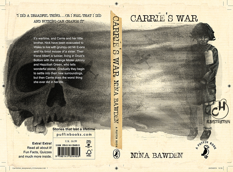 Penguin Book Cover Competition : Charlotte herbert carrie s war book cover competition
