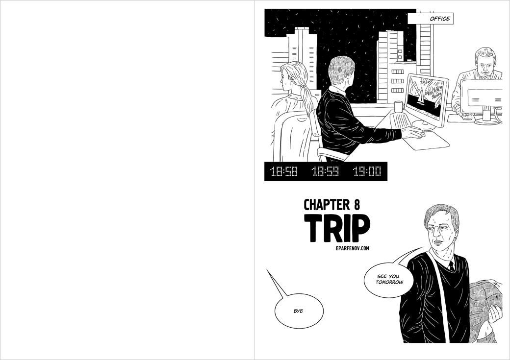 Image may contain: cartoon, person and drawing