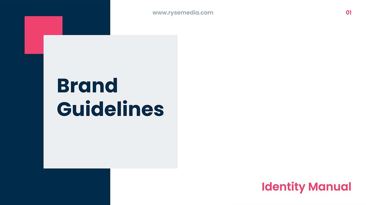 agency branding brand guidelines brand identity brand manual branding  corporate branding Creative banda digital marketing agency Identity Design Logo Design
