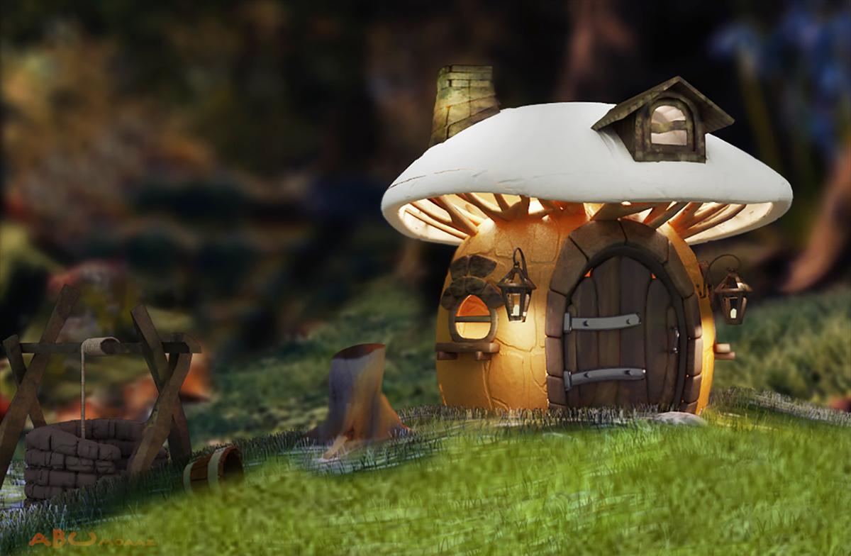 породы домики грибы фото тоже официант