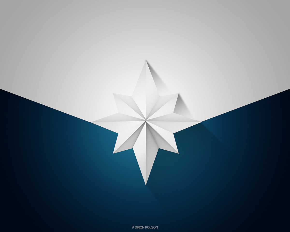 Vector Illustration Web Designs: Captain Marvel Logo Designs