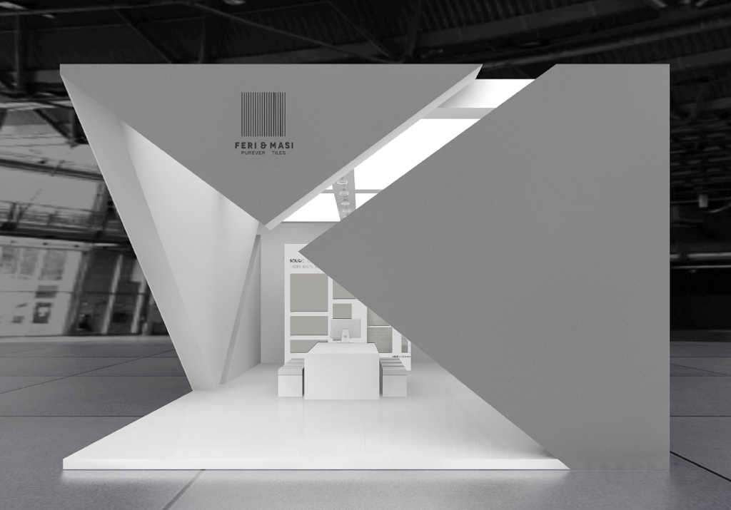 Exhibition Stand Design Tender : Feri masi cersaie preview vs final result on behance